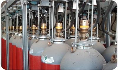 سیستم اطفاء حریق گازی CO2