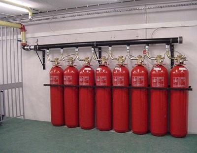 سیستم اطفاء حریق گازی FM200